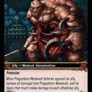 WoW TCG - Dark Portal - Plagueborn Meatwall x4 - NM - World of Warcraft