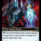 WoW TCG - Dark Portal - Primalist Naseth x4 - NM - World of Warcraft