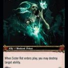 WoW TCG - Dark Portal - Sister Rot x4 - NM - World of Warcraft