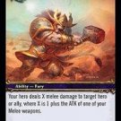 WoW TCG - Dark Portal - Slam x4 - NM - World of Warcraft