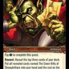 WoW TCG - Dark Portal - The Green Hills of Stranglethorn x4 - NM - World of Warcraft