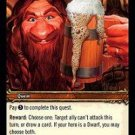 WoW TCG - Dark Portal - The Perfect Stout x4 - NM - World of Warcraft