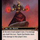 WoW TCG - Dark Portal - Thysta Spiritlasher x4 - NM - World of Warcraft