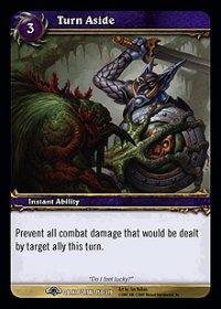 WoW TCG - Dark Portal - Turn Aside x4 - NM - World of Warcraft