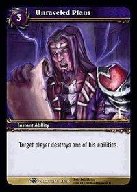 WoW TCG - Dark Portal - Unraveled Plans x4 - NM - World of Warcraft