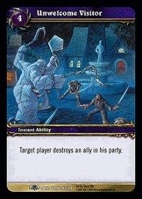 WoW TCG - Dark Portal - Unwelcome Visitor x4 - NM - World of Warcraft