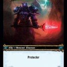 WoW TCG - Dark Portal - Vindicator Enkallus x4 - NM - World of Warcraft