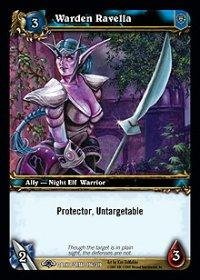 WoW TCG - Dark Portal - Warden Ravella x4 - NM - World of Warcraft