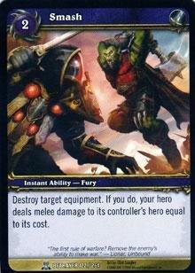 WoW TCG - Betrayer - Smash x4 - NM - World of Warcraft