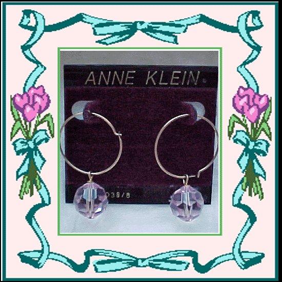 Pretty Pink Crystal Pierced Earrings