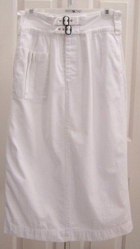 Ralph Lauren Crisp White Summer Skirt Size 10