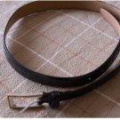 Black Leather Jones New York Belt Medium