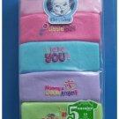 5 Pack Baby Onesies 12 months Girl Short Sleeve