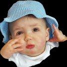 Darling Baby Summer Hat - Boy or Girl - 1 year old