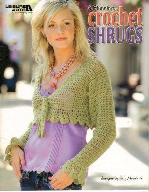 Crochet Shrugs 4 Patterns Leisure Arts  XS to LG
