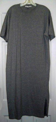 Tweeds Grey Cotton T-Shirt Dress - NWOT - Easy Wear - FREE SHIP