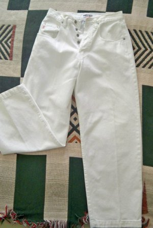 White Cotton Guess Jeans Juniors Size 29