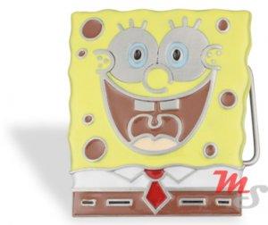 Sponge Bob Squarepants Enameled Belt Buckle