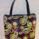 Circles Mini Purse or Makeup Bag