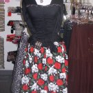Skull and Roses Skirt Tulle lined