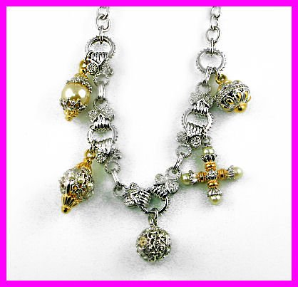 Beautiful Designer Style Charm Necklace