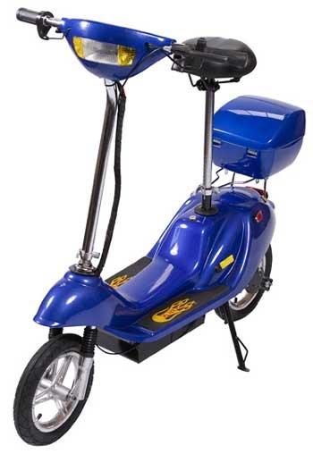 Blue X-Treme X-360 36 Volt Electric Scooter