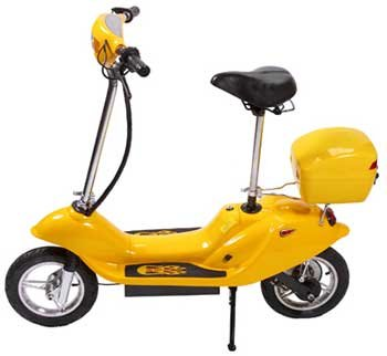 Yellow  X-Treme X-360 36 Volt Electric Scooter