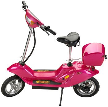Pink x treme x 360 36 volt electric scooter for Motorized scooter for kids