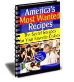 EBOOK Secret Restaurant Recipes Learn Your Favorites !! America's Most Wanted Recipes