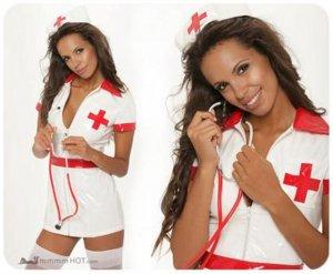 PVC Nurse Dress / Costume