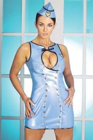 Air force PVC costume