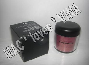 MAC Pigment * ROSE * 1/4 sample - $ave Pigments