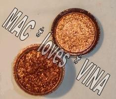 MAC Pigment * COPPER SPARKLE * 1/4 sample - $ave Pigments