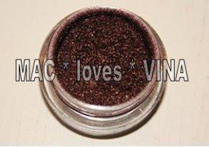 MAC Pigment * CHOCOLATE BROWN * 1/4 sample - $ave Pigments