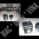 MAC Eye Pigment * STEEL BLUE * 1/2 sample - $ave Pigments