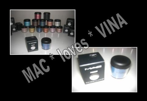 MAC Pigment * CORNFLOWER * 1/2 sample - $ave Pigments
