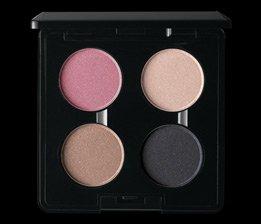 MAC eyeshadow YOU CHOOSE THE COLORS LOT of 4 eyeshadows + MAC QUAD PALETTE - $ave