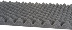 "Acoustic Foam 1-1/2"" 24"" x 18"" UL 94"