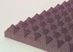 "Pyramid Design Panel 2"" Brown"