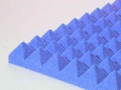 "Pyramid Design Panel 2"" Blue"