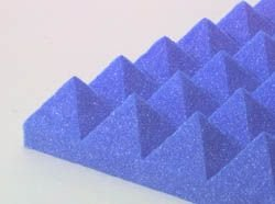 "Pyramid Design Panel 3"" Blue"