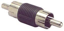 RCA Plug To RCA Plug Adapter Plastic