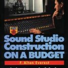 Sound Studio Construction On A Budget Book