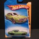 Hotwheels 67 Green Pontiac Firebird NIP
