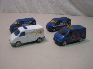 Lot Of 4 MATCHBOX SUPERFAST Ford Transit Vans