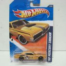 Hotwheels Kmart Days 9-17- 2011 68 Mercury Cougar Yellow 2011 Hot Wheels