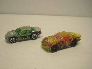 Hotwheels Stockar Lot Of 2 Racecar