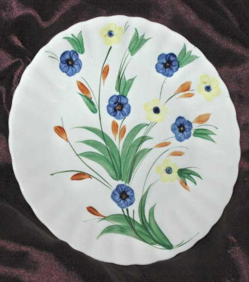BLUE RIDGE Southern Potteries Inc. CHICHORY Hand Painted Dinner Plate