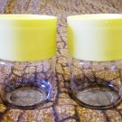Vintage 70's Pyrex Yellow Stackable Containers w/ Lids!