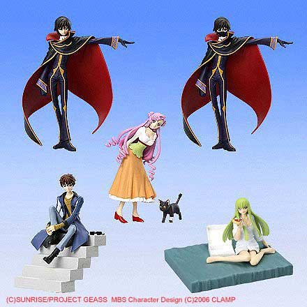 Code Geass - Lellouch of the Rebellion Figure Meister Trading Figures